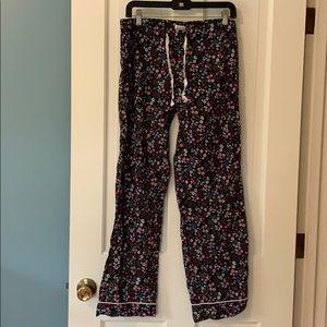 Jcrew floral pajama pants